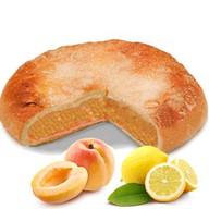 Пирог с лимоном и абрикосом Фото