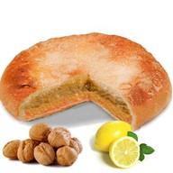 Пирог с орехом и лимоном Фото