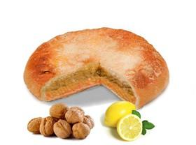 Пирог с орехом и лимоном - Фото