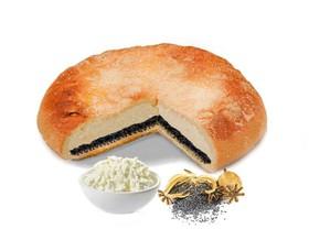 Пирог с творогом и маком - Фото
