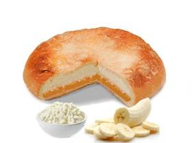 Пирог с творогом и бананом - Фото