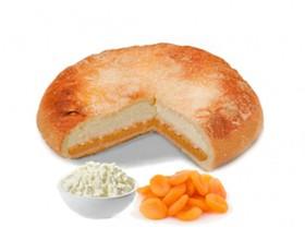 Пирог с творогом и курагой - Фото