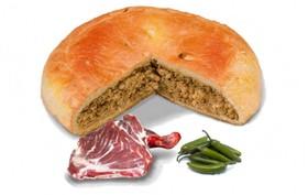 Пирог с бараниной и перцем халапеньо - Фото