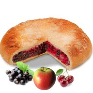 Пирог ассорти ягодное Фото