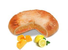 Постный пирог с тыквой и лимоном - Фото