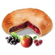 Постный пирог ассорти ягодное Фото