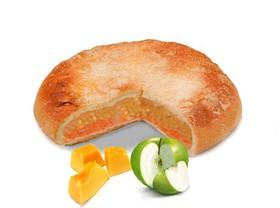 Тыквенный пирог с яблоком - Фото