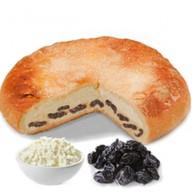 Пирог с творогом и черносливом Фото