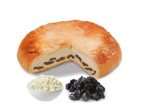 Пирог с творогом и черносливом - Фото