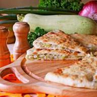 Пирог с кабачком и сыром Фото