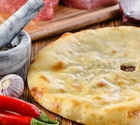 Пирог с мясом и картофелем - Фото