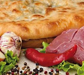 Пирог с мясом и сыром - Фото