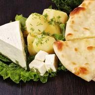 Пирог с сыром и картофелем Фото