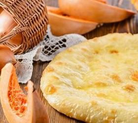 Пирог с тыквой - Фото