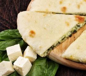 Пирог со шпинатом и сыром - Фото