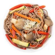 Гречневая лапша с овощами Фото