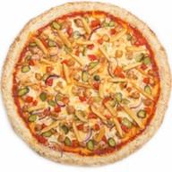 Бургер пицца Фото