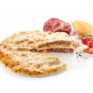 Алдарон с мясом,грибами,сыром,помидорами Фото
