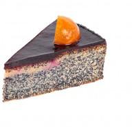 Торт маково-черничный Фото