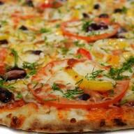 Овощная пицца Фото