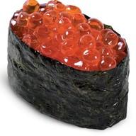 Икура(икра лососевая) суши Фото