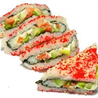 Северное сияние роллы сендвич Фото