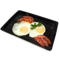 Яичница из 2х яиц Фото