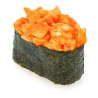 Спайс-суши с тигровой креветкой Фото