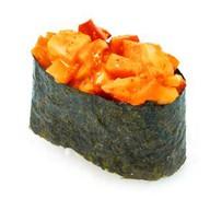 Спайс-суши с моллюском Фото