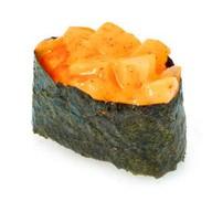 Спайс-суши с гребешком Фото