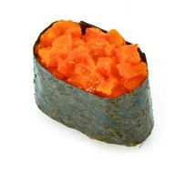 Спайс-суши с лососем Фото
