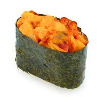 Спайс-суши с морепродуктами Фото