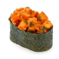 Спайс-суши с копченым угрем Фото