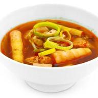 Остро-кислый суп с курицей Фото