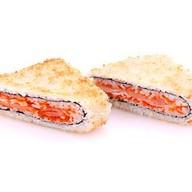 Роллы «Теплый сэндвич с крабом» Фото