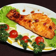 Шашлык из норвежского лосося Фото