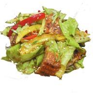 Салат унаги сарада Фото