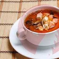 Суп крабовый с тофу Фото