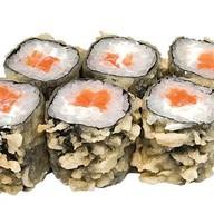С лососем и мягким сыром Фото