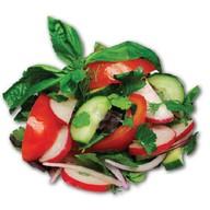 Из свежих овощей Фото