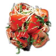 Из помидоров с пряной зеленью Фото