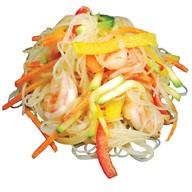 Рисовая лапша с креветками Фото