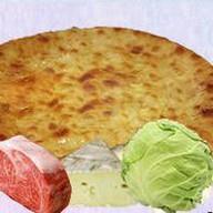С говядиной, капустой и сыром Фото