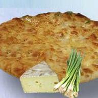 С грибами, сыром и зеленью Фото