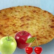С вишней и яблоком Фото