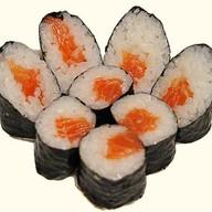 Спайс ролл с лососем Фото