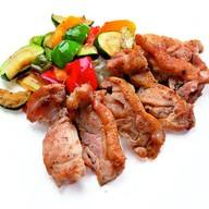 Куриное филе с овощами Фото