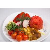 Овощи на вертеле ассорти Фото