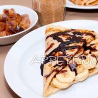 С бананом и шоколадом Фото