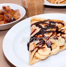 С бананом и шоколадом - Фото
